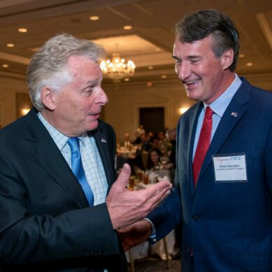 McAuliffe and Youngkin are in a dead heat with one week to Virginia governor election, poll shows