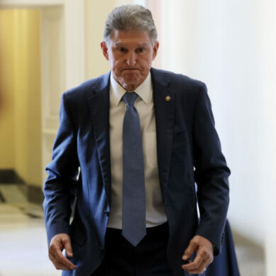 Biden Holds Office Hours As Manchin Takes Axe To Reconciliation Bill