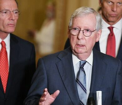 Senate Democrats are pushing a voting rights bill Republicans have vowed to block