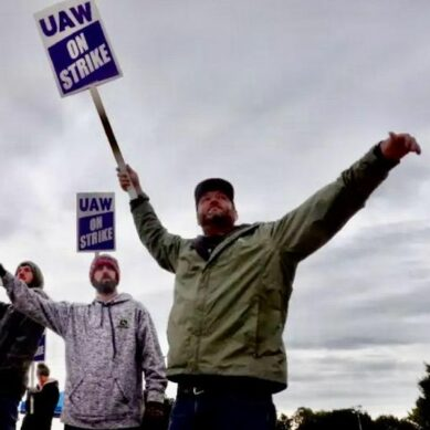 Frustrated and weary over pandemic slog, more US workers are striking